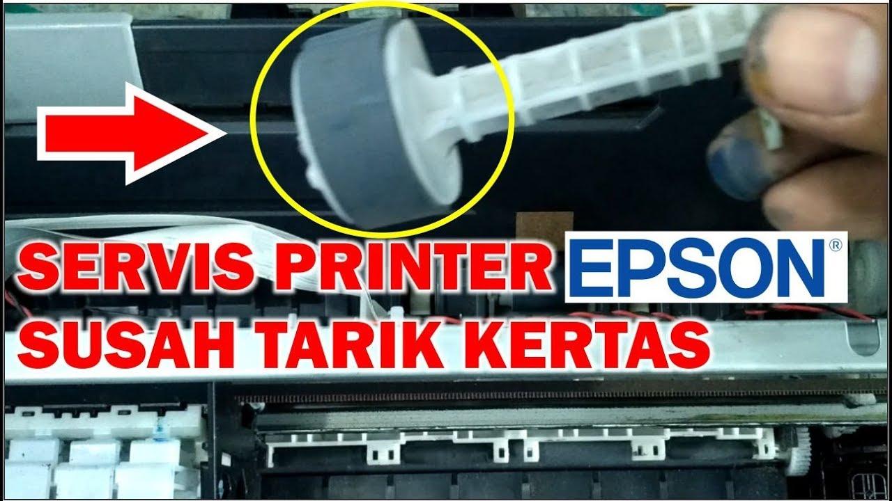 Servis Printer Epson Susah Narik Kertas Paper Jam Error Pickup