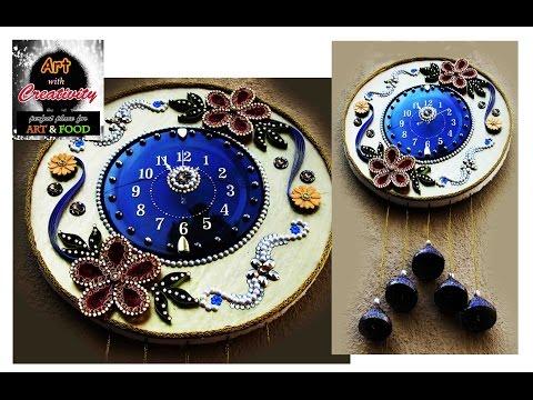 Decorated Clock | DIY | Art with Creativity