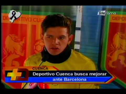 Deportivo Cuenca busca mejorar ante Barcelona