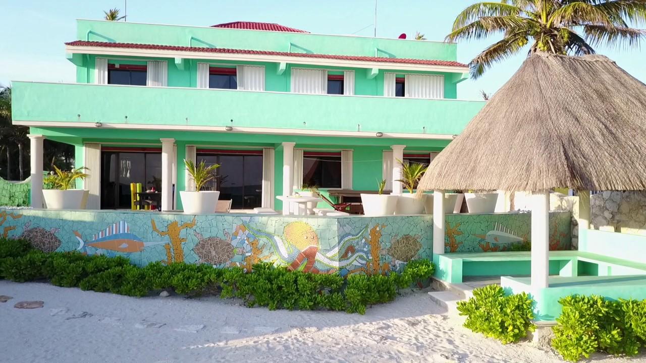 Casa turquesa telchac puerto yucatan casa playa for Boutique hotel yucatan