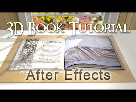Custom 3D Book (After Effects Tutorial)
