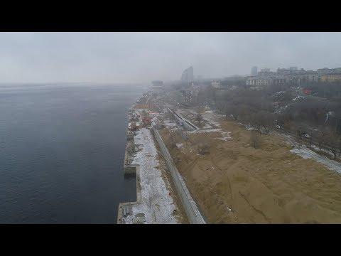 Набережную Волгограда спрячут за двухметровым забором