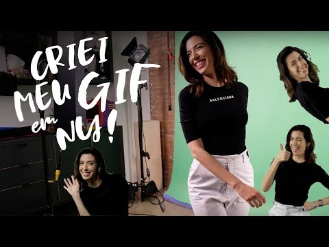 CRIEI MEU GIF! | TOUR PELO GIPHY NY, BUSINESS TALK, BASTIDORES...