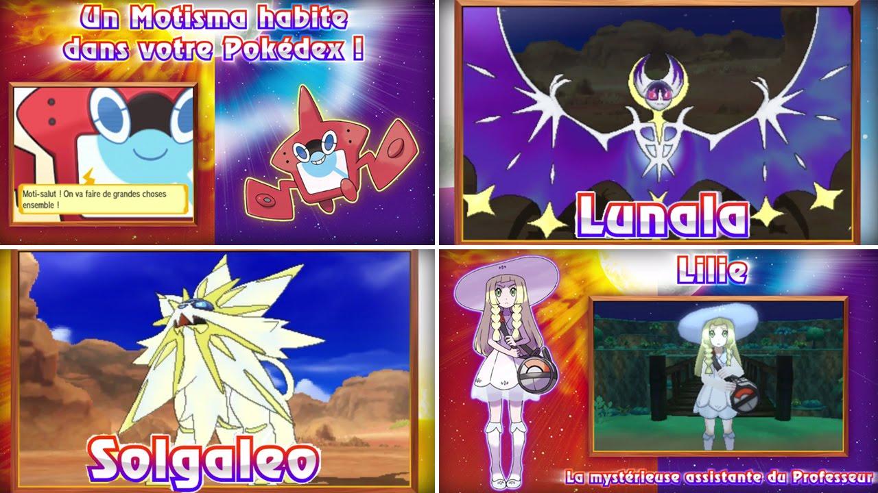 Nouveaut s pokemon soleil et lune fille myst re pok mon - Pokemon legendaire blanc 2 ...