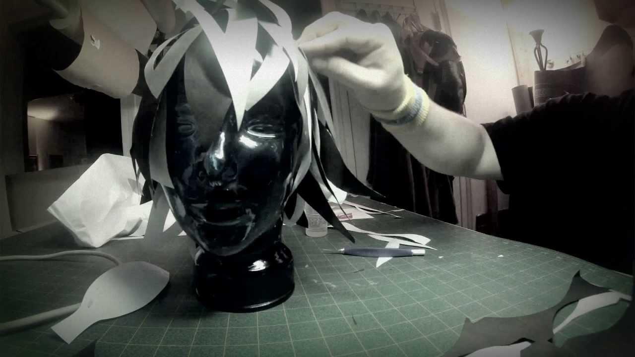 Cut Paper Headdress BTS Timelapse - YouTube