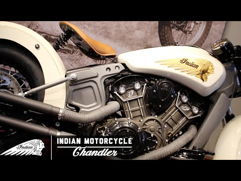 Steve Mcqueen 1934 Sport Scout - Indian Motorcycle Chandler | Project Scout