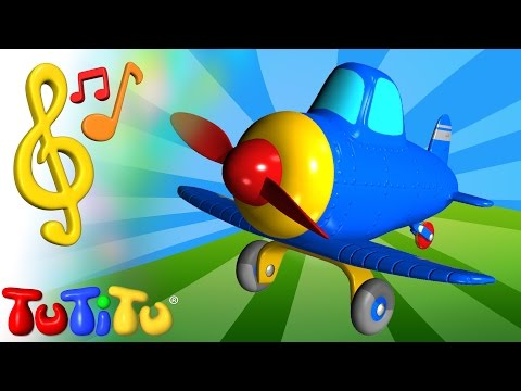 TuTiTu Toys and Songs for Children  Airplane