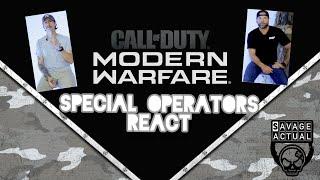 Special Operators React To COD:Modern Warfare
