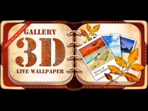 Gallery 3D Live Wallpaper App Review