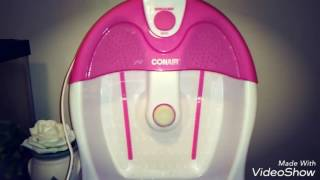 CONAIR Foot Bath Review