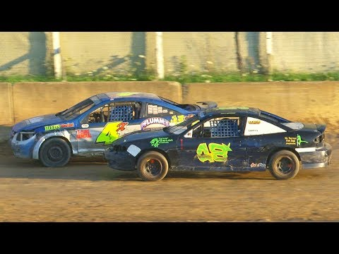 Mini Stock Heat Three | Old Bradford Speedway | 8-11-19