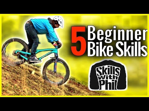 LEARN THESE 5 MTB SKILLS WITHOUT TRAILS!! // Beginner mountain bike skills & drills