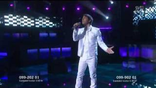 HQ Darin - You´re Out Of My Life (LIVE GLOBEN Melodifestivalen 2010) Final