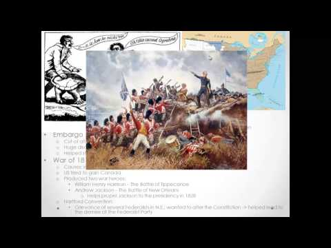 APUSH Review: Final Exam Review Part I (Colonial America - Civil War)