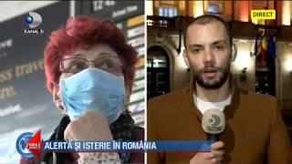 Stirile Kanal D (24.02.) - Alerta si isterie in Romania! Autoritatile, depasite de situatie!