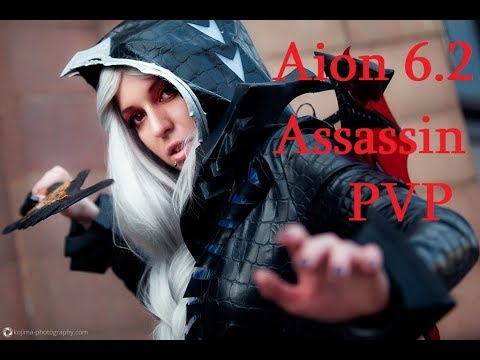 Aion 6.2 Assassin 80 lvl vs Gladiator&Spiritmaster AOD PVP 아이온 6.2 암살자 PVP