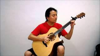 """Girls' Generation - """"Paparazzi"""" (Justin Liew fingerstyle cover)"""