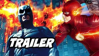 The Flash Season 6 Episode 3 Trailer - Batman and Crisis On Infinite Earths Scene Easter Eggs