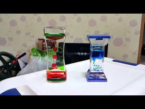 Adorox Liquid Bubble Drop Motion Wheel Zig Zag Desk Toy (Zig Zag)