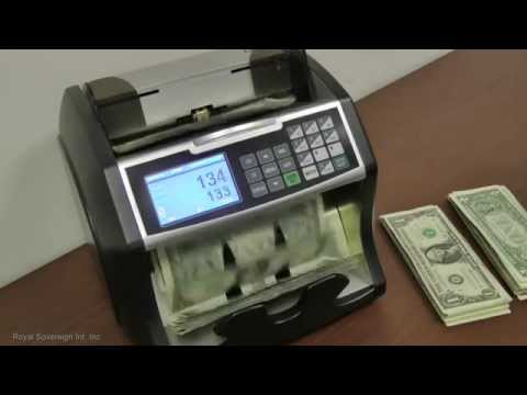Royal Sovereign Electric Bill Counter w/ Value Counting (RBC-4500)