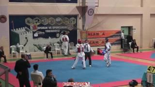 Gambar cover 68kg Quarterfinal - İlker Dere vs Tolga Caliskan (2017 Ümitler Türkiye TKD Şampiyonası)