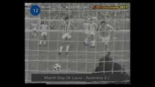 Italian Serie A Top Scorers: 1973-1974 Giorgio Chinaglia (Lazio) 24 goals