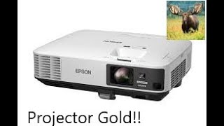 Scrapping a Digital Projector for FREE GOLD!  -Moose Scrapper #261