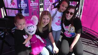 Darci Lynne Farmer at Barbie 'Be Anything' Tour events in OKC