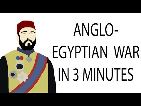 Anglo-Egyptian War | 3 Minute History