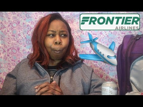 1st Time Flying Frontier Airlines 😐