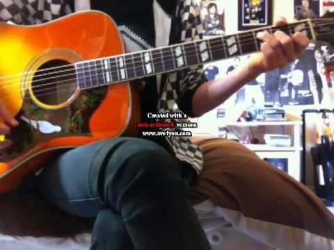 Frank Turner I Am Disappeared Acoustic Guitar Cover Youtube