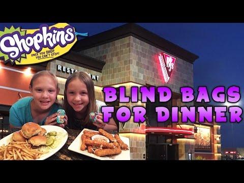 Blind Bags for Dinner - Shopkins Season 3 - BJ's Restaurant