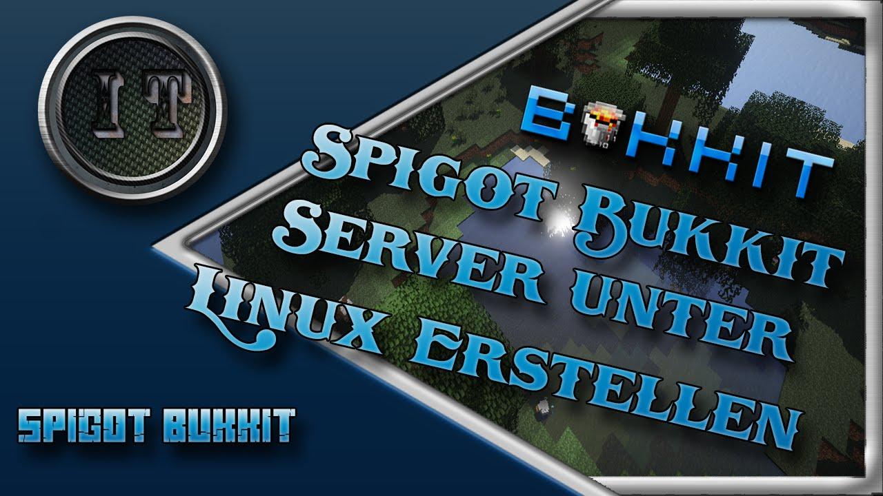 Spigot Bukkit Server Unter Linux Erstellen By IceTutorials - Minecraft bukkit server unter linux erstellen