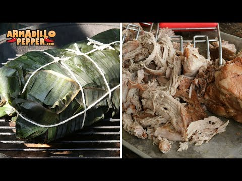 How to Make Kalua Pork & Hawaiian Rice | Gourmet Guru Kamado Grill