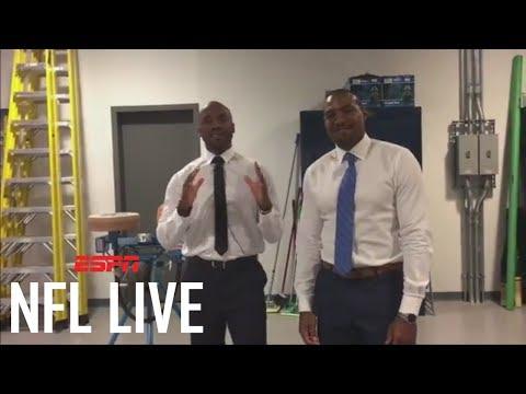 Dan Graziano Takes On The Jug Machine | NFL Live | ESPN