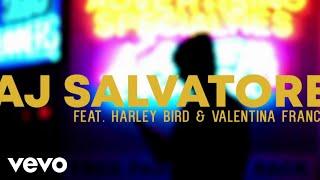 AJ Salvatore - Alone (Lyric Video) Ft. Harley Bird, Valentina Franco