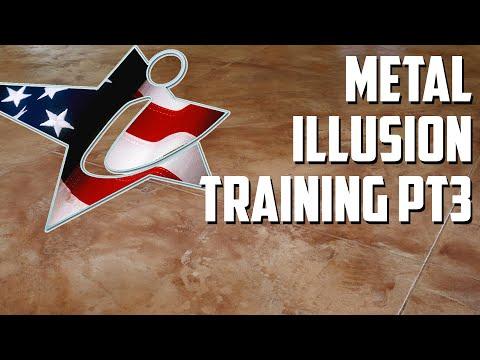 Metal Illusion Flooring Training (Part 3)
