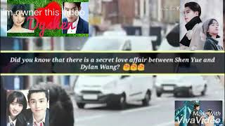 dylan wang and shen yue true relationship ...#dyshen this video is proof