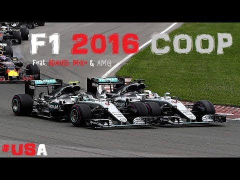 F1 2016 YOUTUBE COOP // R17: USA-AUSTIN // #17