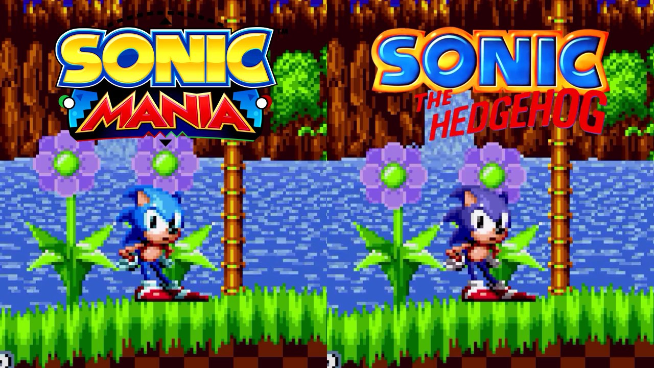 Sonic Mania - Sonic 1 Character Palette Mod (Download)