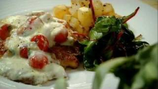 Escalopes Of Chicken With Sautéed Potatoes And Red Chard - Gordon Ramsay
