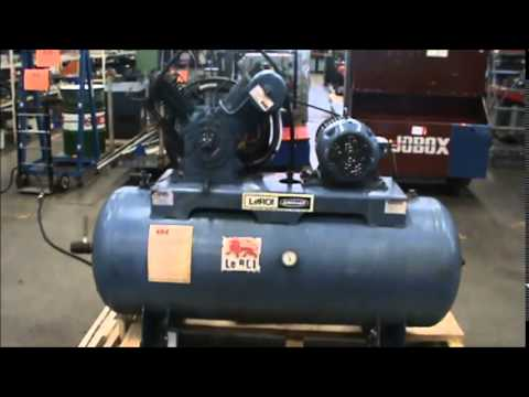 Leroi Dresser Two Stage Piston Air Compressor Acp2072