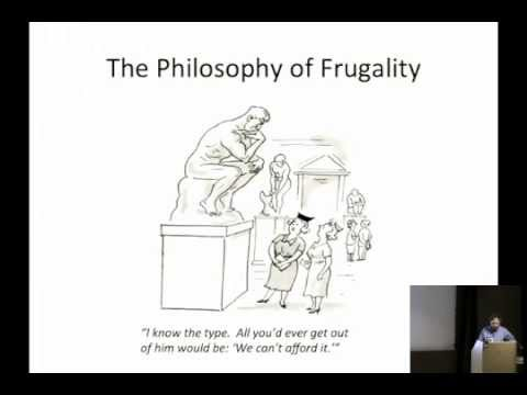 The Philosophy of Frugality