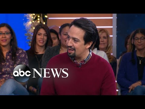 Lin-Manuel Miranda talks his 'dream come true' filming 'Mary Poppins Returns'