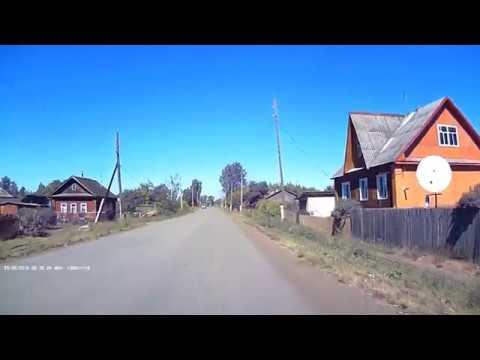 Зуевка. Видео с регистратора. Зуевский район. 2016 г.