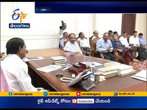 CM KCR Review Meet with GMR Group | on Construction of New Runway at Hyderabad Airport
