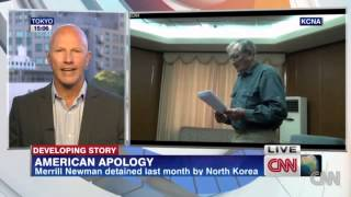 N Korea says detained American apologizes