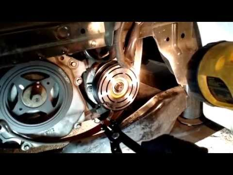2008 Nissan Sentra air conditioner Clutch troubleshooting repair