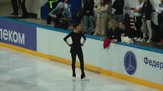 Алина Загитова КП Контрольные прокаты 2019 2020 Alina Zagitova SP Open Skates