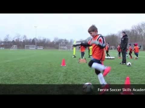 Første Soccer Skills Academy Denmark specifiktræning i Hørsholm for U8   U9
